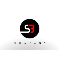 sb logo letter design vector image vector image