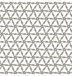 abstract vintage geometric wallpaper pattern vector image