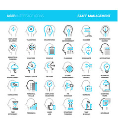 business and staff management vector image