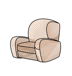 chair sofa seat image vector image
