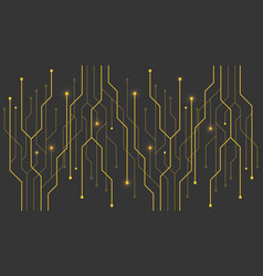 Circuit board technology background future vector
