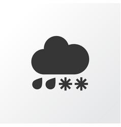 Drizzle icon symbol premium quality isolated hail vector
