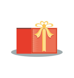 gift commercial sticker icon vector image