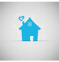 Home icon for concept vector