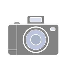 professional photo camera glyph color icon vector image
