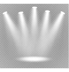 spotlight light vector image