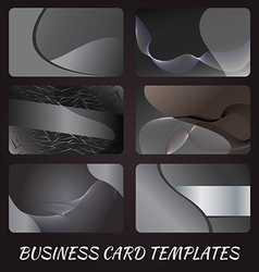 business-card-templates-2 vector image