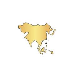 Asia computer symbol vector image
