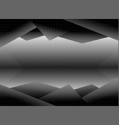 black and white dimension picture background vector image vector image