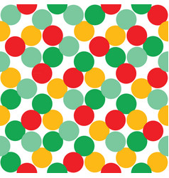 seamless background with multi-colored balls vector image vector image