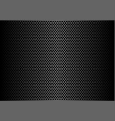 abstract dark gray circle mesh pattern background vector image