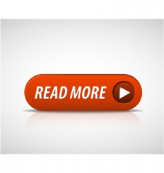 big red read more button vector image vector image
