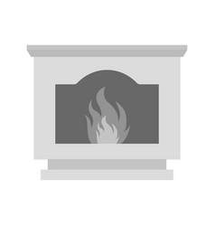 coal furnace vector image