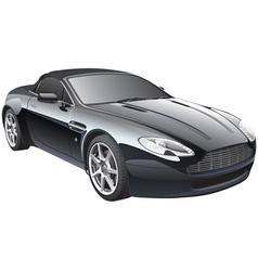gentlemans car vector image vector image