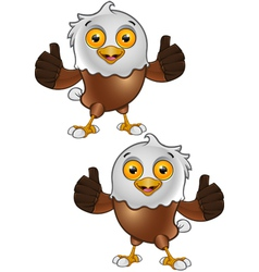 Bald Eagle Character 5 vector
