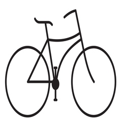 Bike stilizovana1 vector