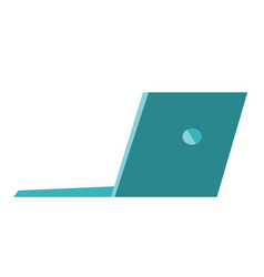 laptop cartoon vector image