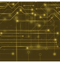 Modern Computer Technology Background vector image