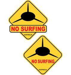 No surfing vector
