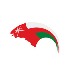 Oman flag vector