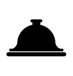 service bell icon vector image