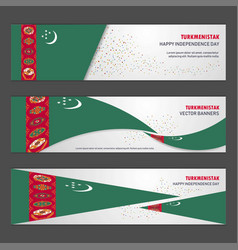 Turkmenistan independence day abstract background vector