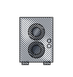 speaker sound audio image vector image vector image