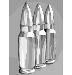 Three bullets in the row vector