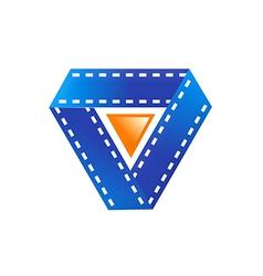 Film movie play symbol logo vector