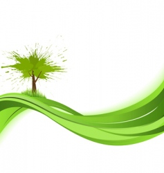 Abstract nature background vector