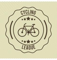 bike label vector image