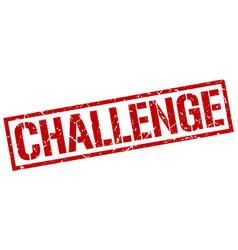 Challenge stamp vector