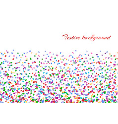 Confetti isolated decoration vector