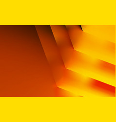 Convex stripes red and orange color dark vector