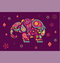 happy diwali hindu festival banner burning diya vector image