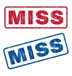 Miss Rubber Stamps vector