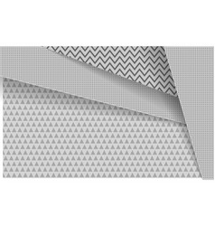Modern abstract white background with triangle vector