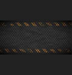 pattern of metal rusty grid urban grunge vector image