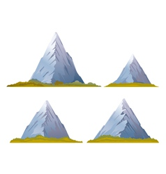 Set of Mountains vector