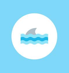 shark icon sign symbol vector image