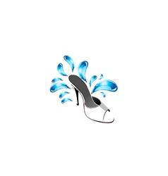Shoe logo vector