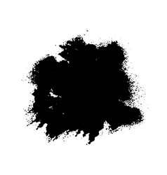 Splash stains texture banner black and white vector