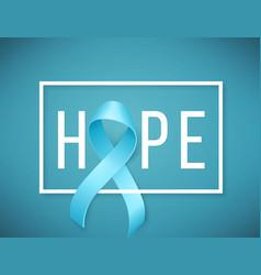World prostate cancer day symbol vector