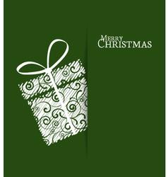 Christmas Present vector image vector image
