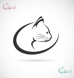 Cat design vector image vector image