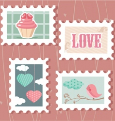 love cakes vector image