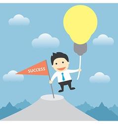 use idea to success vector image
