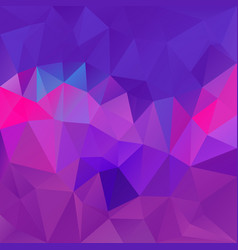 Abstract polygon square background purple violet vector