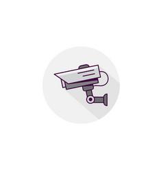 cctv icon design vector image