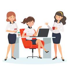 Office coffee break vector
